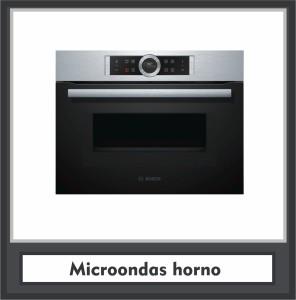 Microondas horno