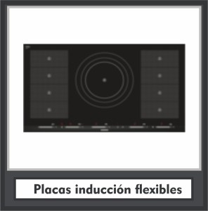 Placas inducción flexibles