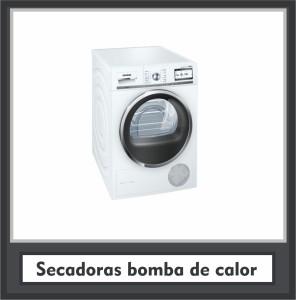 Secadoras bomba de calor