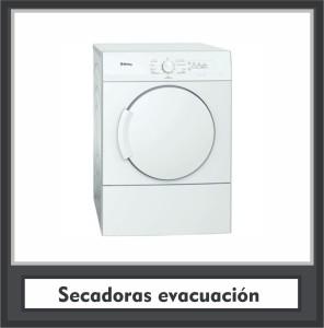 Secadoras evacuación