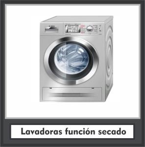 Lavadoras función secado