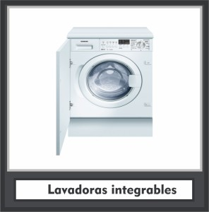 Lavadoras integrables