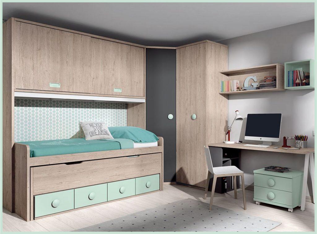 Dormitorios juveniles en Sevilla.